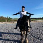 Balance-træning på hest