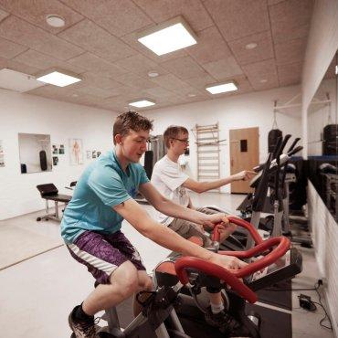 Træning på cykler