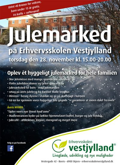 Julemarked annonce 2019